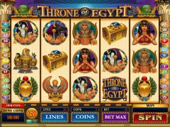 Throne Of Egypt cleopatra77.com Quickfire 1/5
