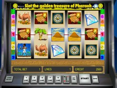 Golden Treasure of Pharaoh cleopatra77.com Novomatic 1/5