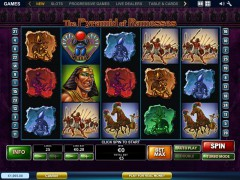The Pyramid of Ramesses cleopatra77.com Playtech 1/5