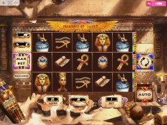 Treasures of Egypt cleopatra77.com MrSlotty 1/5