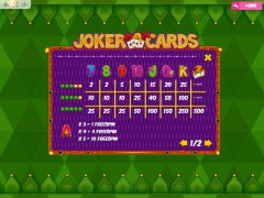 Joker Cards cleopatra77.com MrSlotty 5/5
